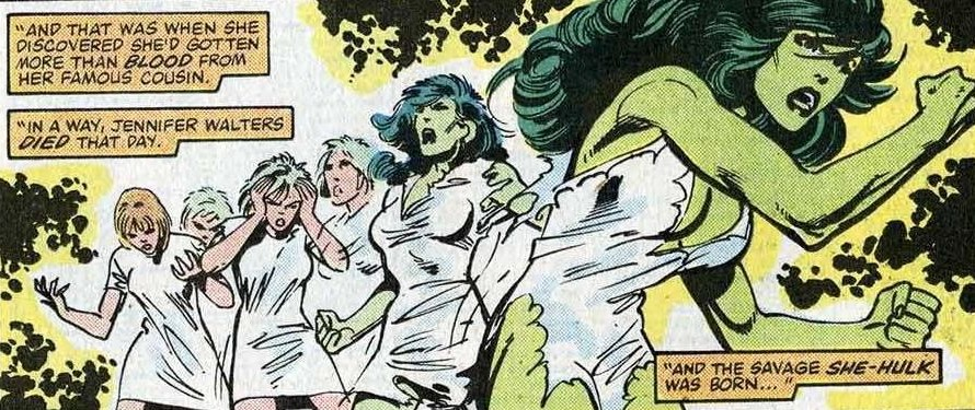 She-Hulk origin Marvel Comics