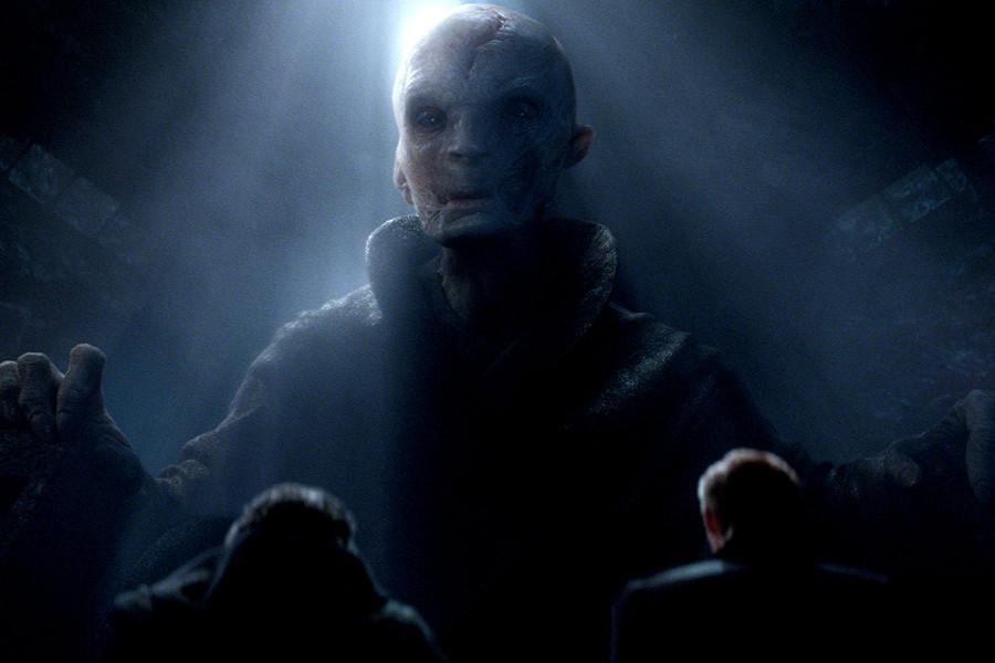 Andy Serkis Star Wars Snoke