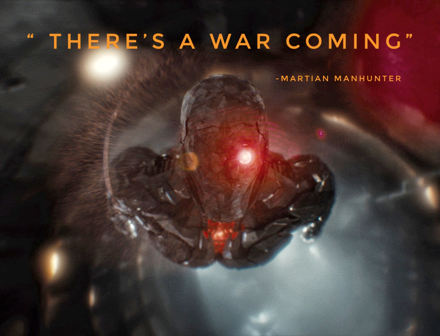 Sndyer Cut War Is Coming Martian Manhunter teaser