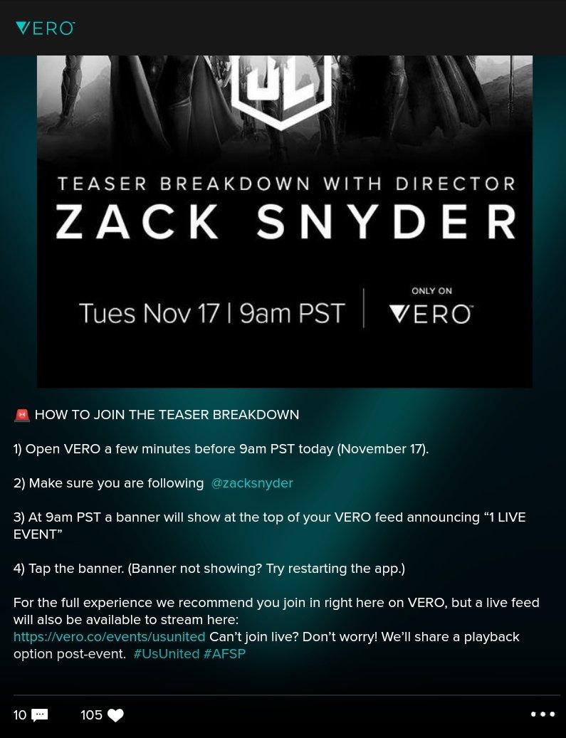 Watch Snyder Cut trailer