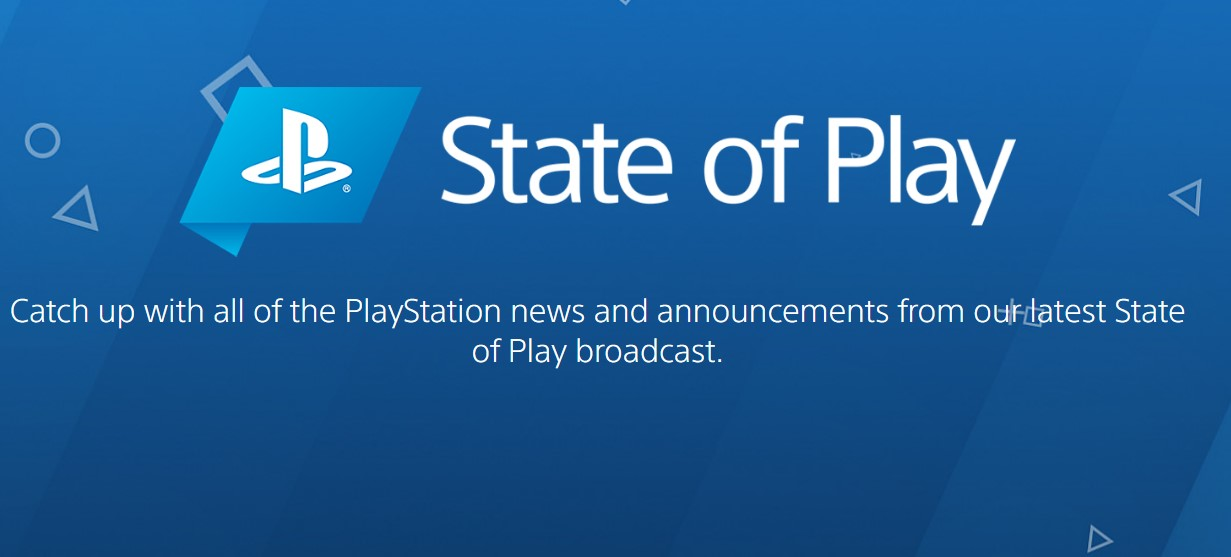 Sony PS5 State of Play