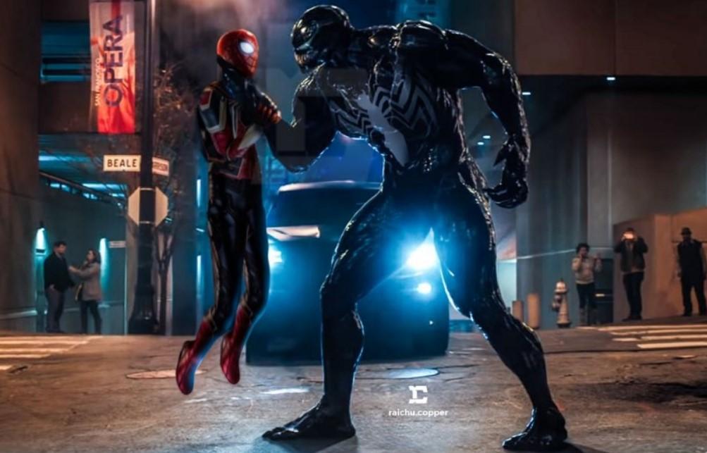 Spider-Man Venom MCU fan art