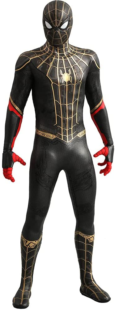 Spider-Man black and gold suit
