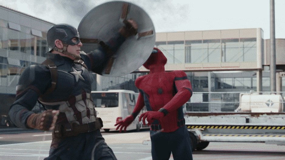 Spider-Man Marvel Captain America Civil War