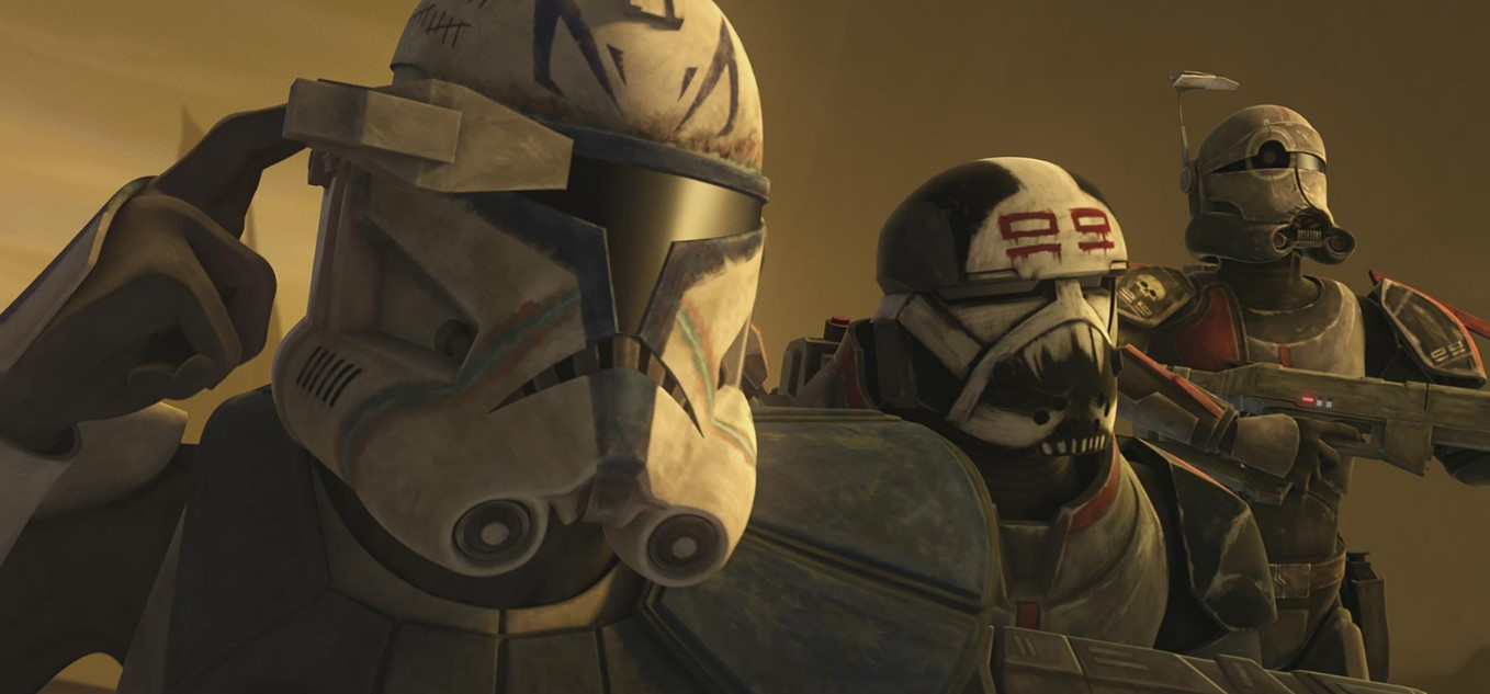 Star Wars The Bad Batch from Clone Wars