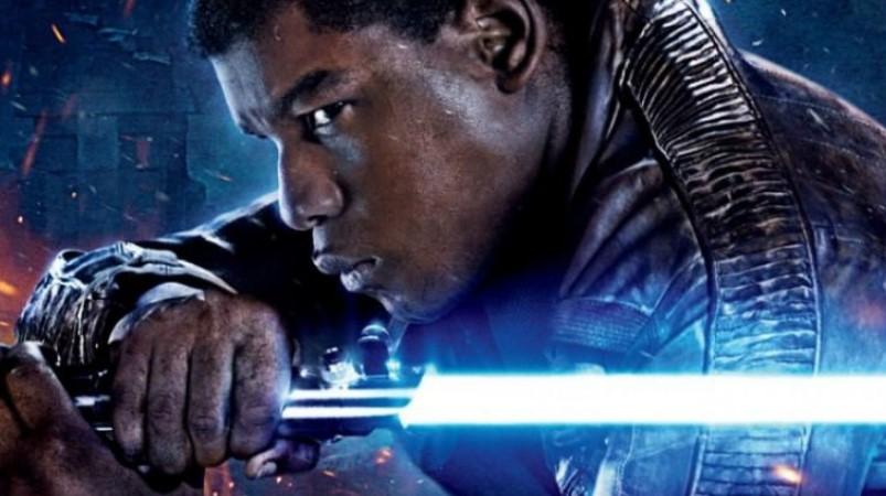 Star Wars John Boyega lightsaber