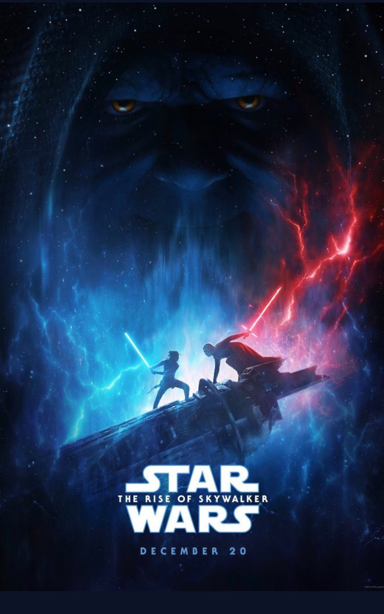 Star Wars: The Rise of Skywalker D23 poster
