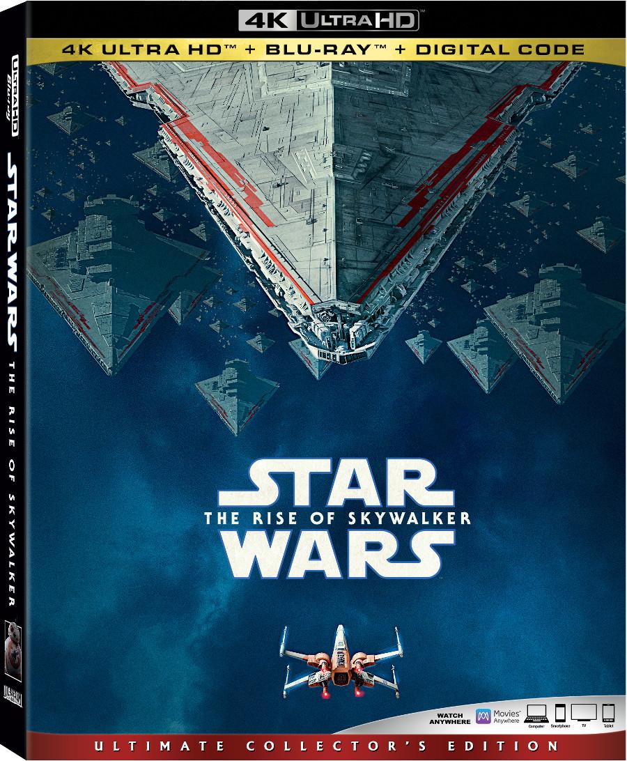 Star Wars The Rise of Skywalker 4K Blu-Ray