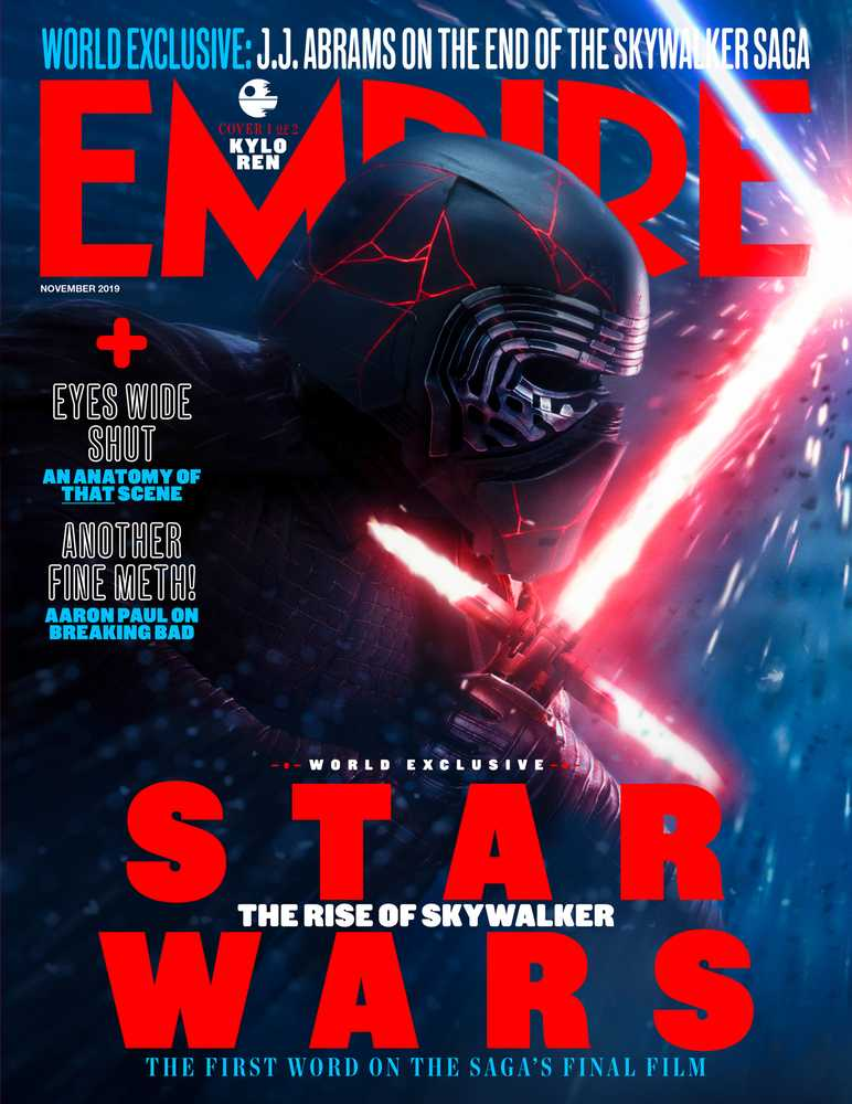 Star Wars: The Rise Of Skywalker Empire Magazine Kylo Ren