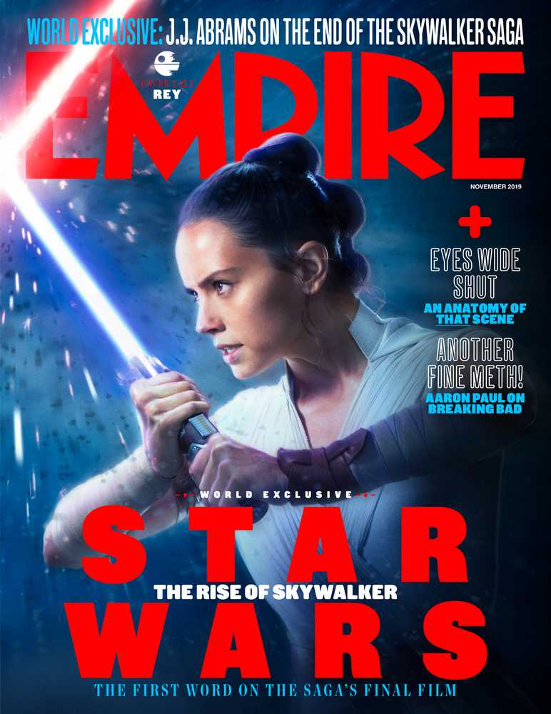 Star Wars: The Rise Of Skywalker Empire Magazine Rey