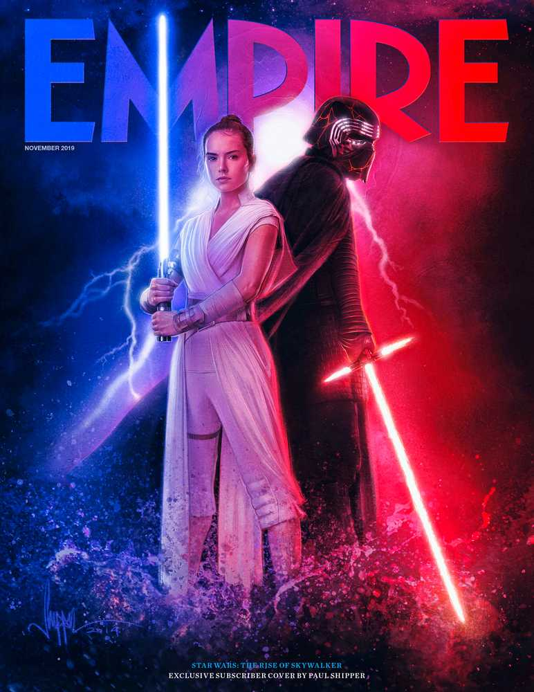 Star Wars: The Rise Of Skywalker Empire Magazine Kylo Ren Rey