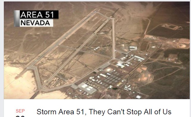Storm Area 51 Goes Viral On Facebook Air Force Responds Cosmic