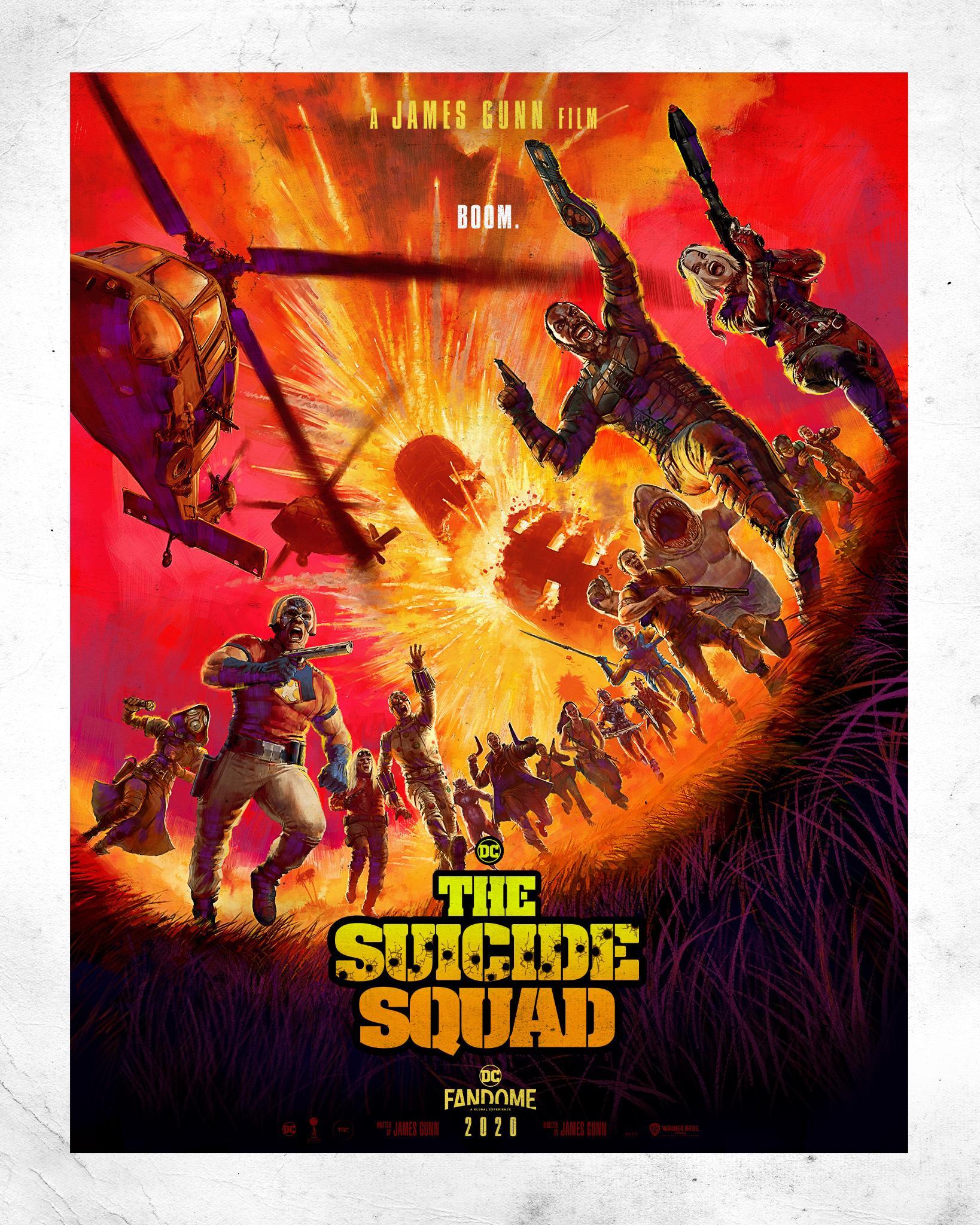 The Suicide Squad DC FanDome poster