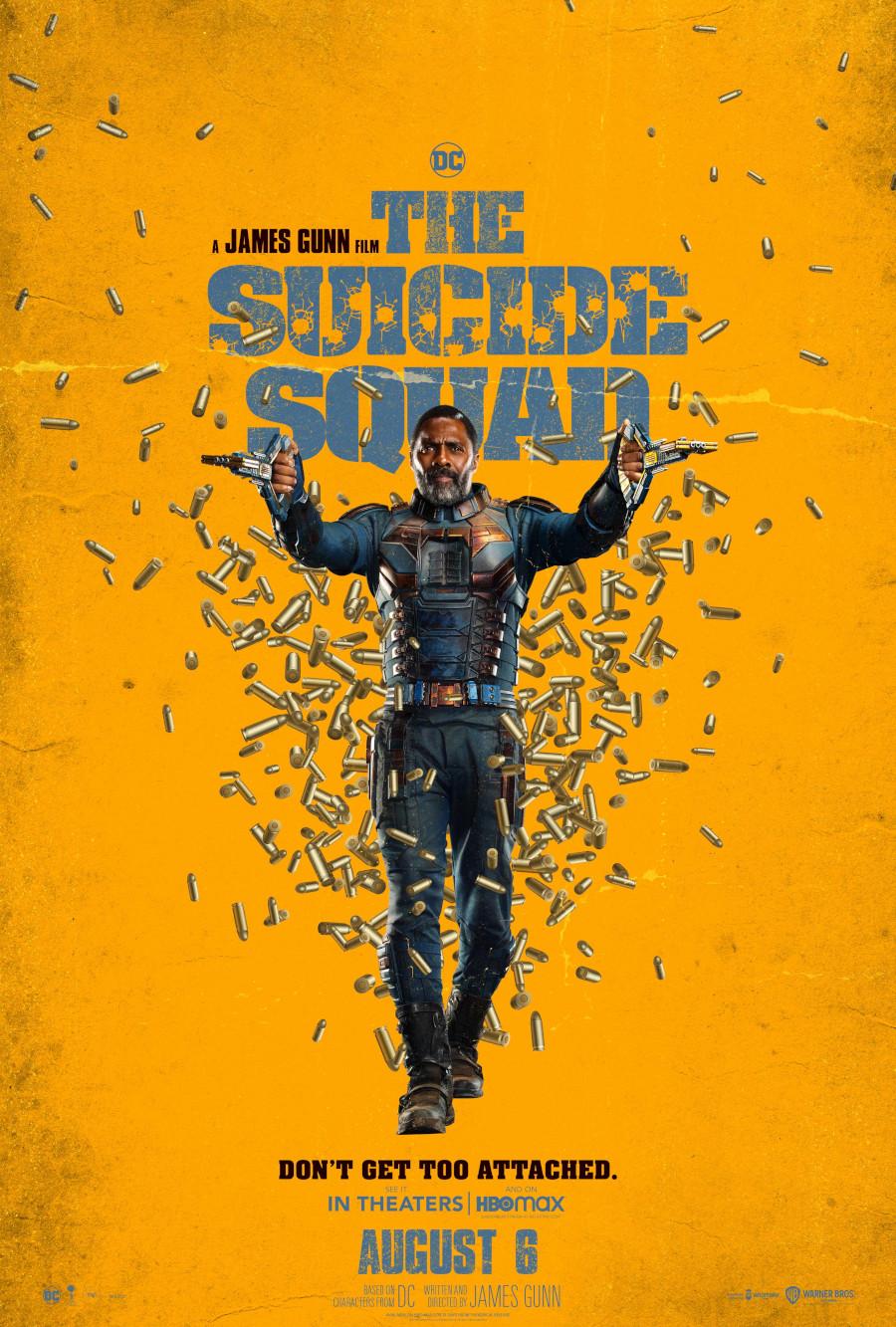 The Suicide Squad Idris Elba Bloodsport poster