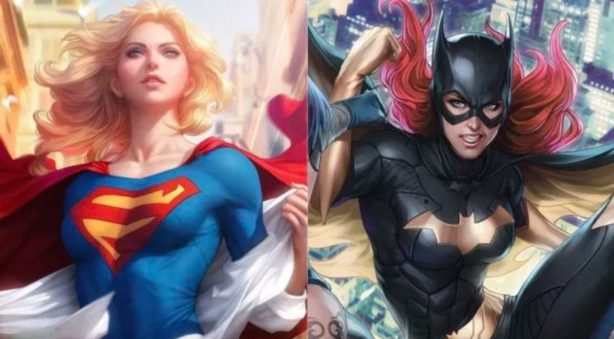 Batgirl Superman
