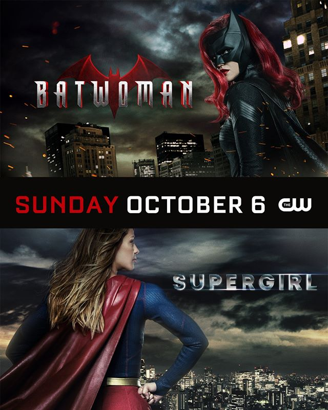 CW fall 2019 Batwoman Supergirl