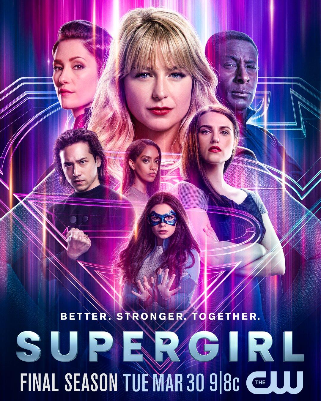 Supergirl Season 6 poster