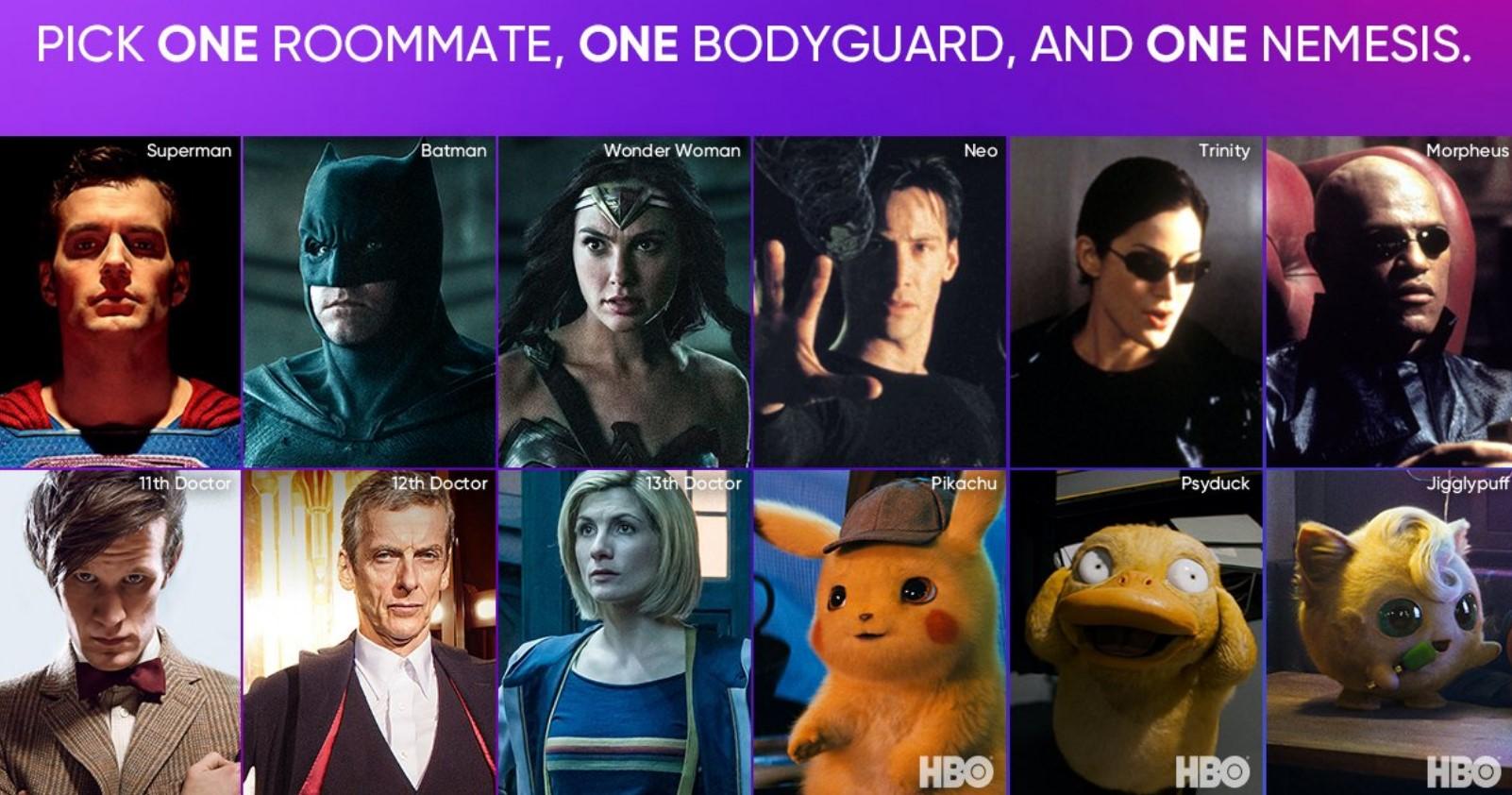 HBO Max Superman Batman Wonder Woman