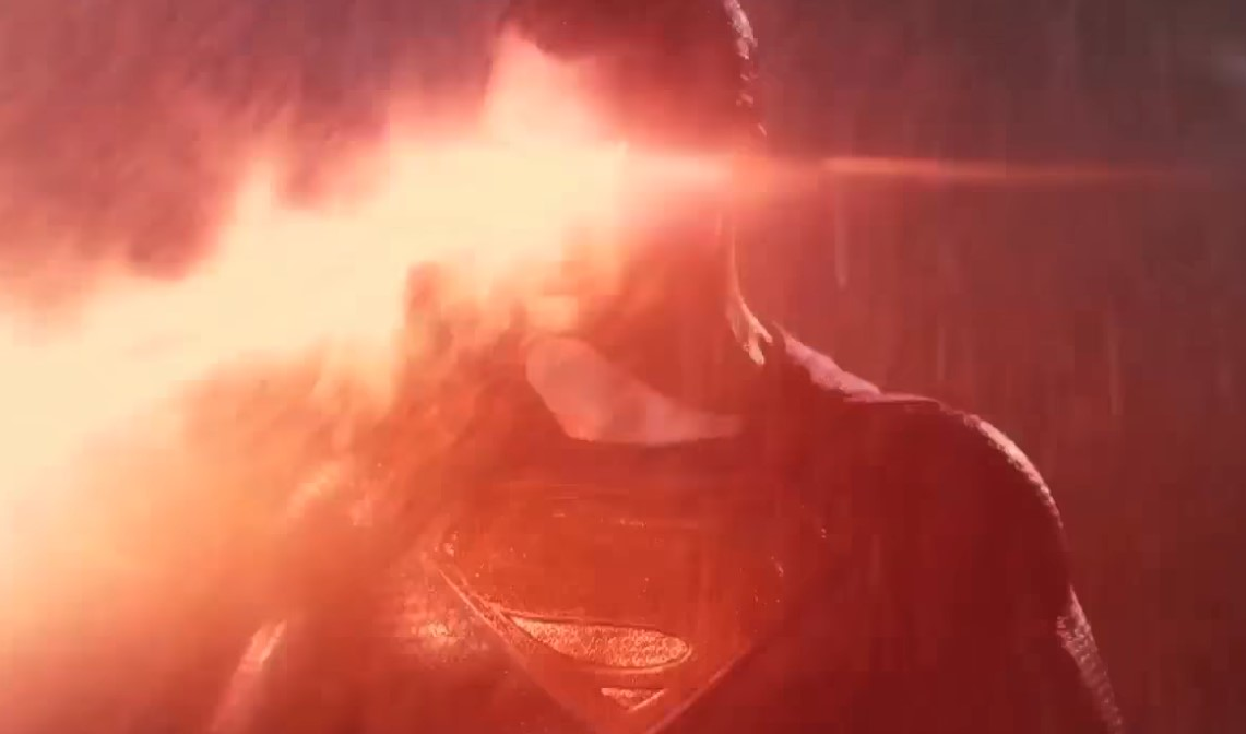 Henry Cavill Superman Heat Vision