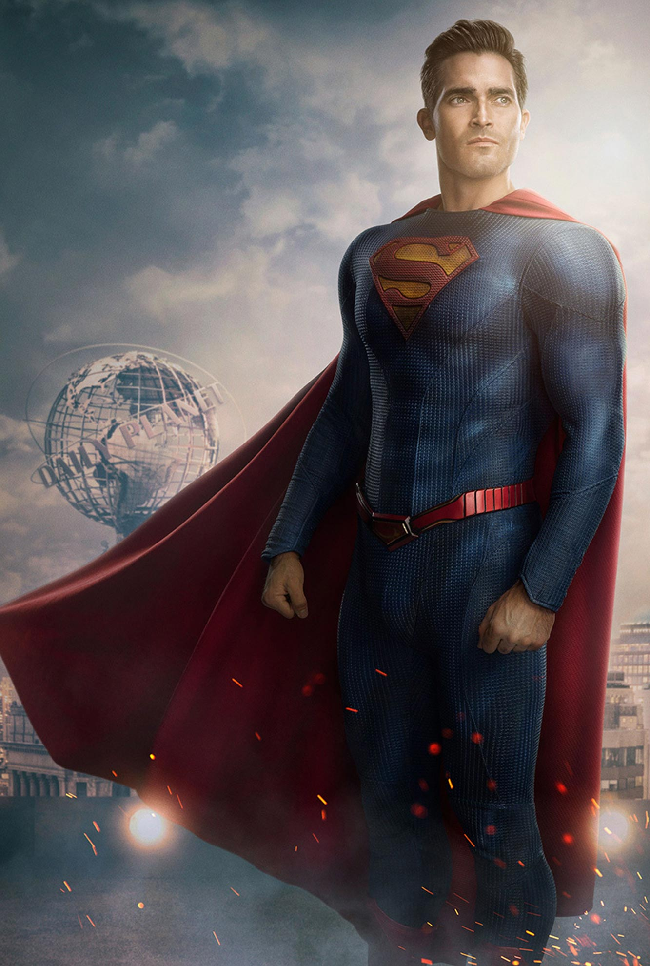 Superman and Lois Tyler Hoechlin new suit