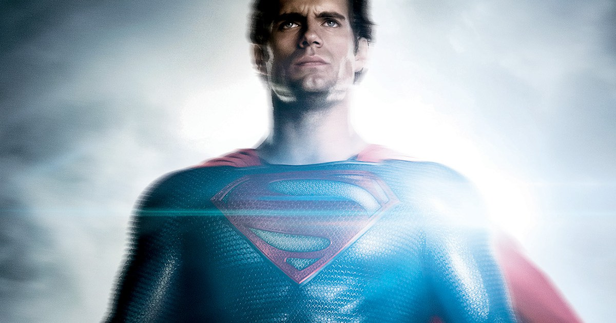 Henry Cavill Superman Man of Steel 2