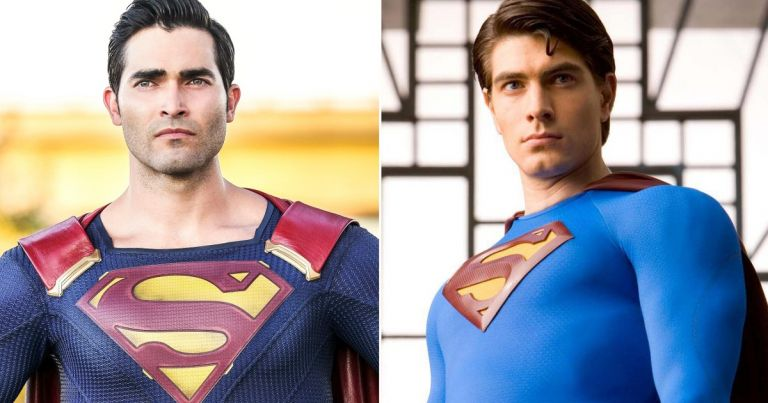 Superman TV series Tyler Hoechlin Brandon Routh