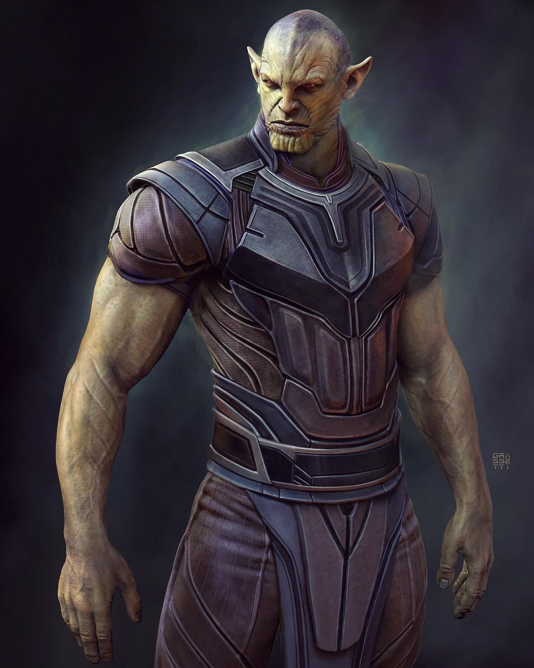 MCU Concept art Super-Skrull