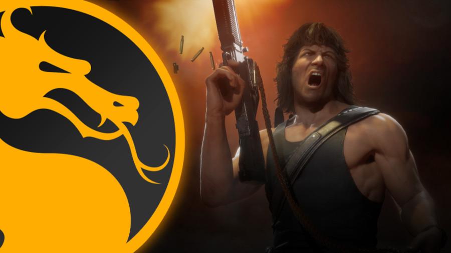 Sylvester Stallone Rambo Mortal Kombat
