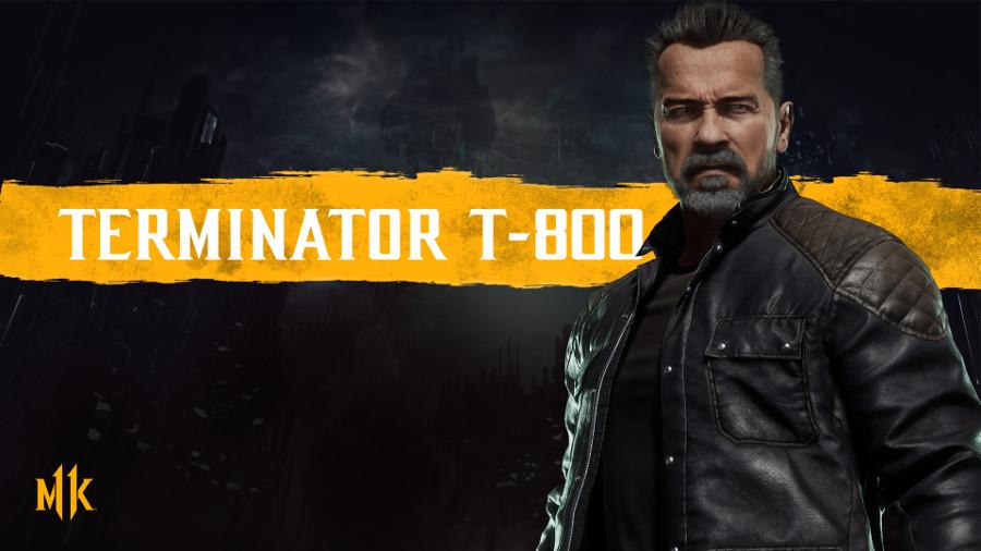 Mortal Kombat 11 Terminator trailer Arnold Schwarzenegger