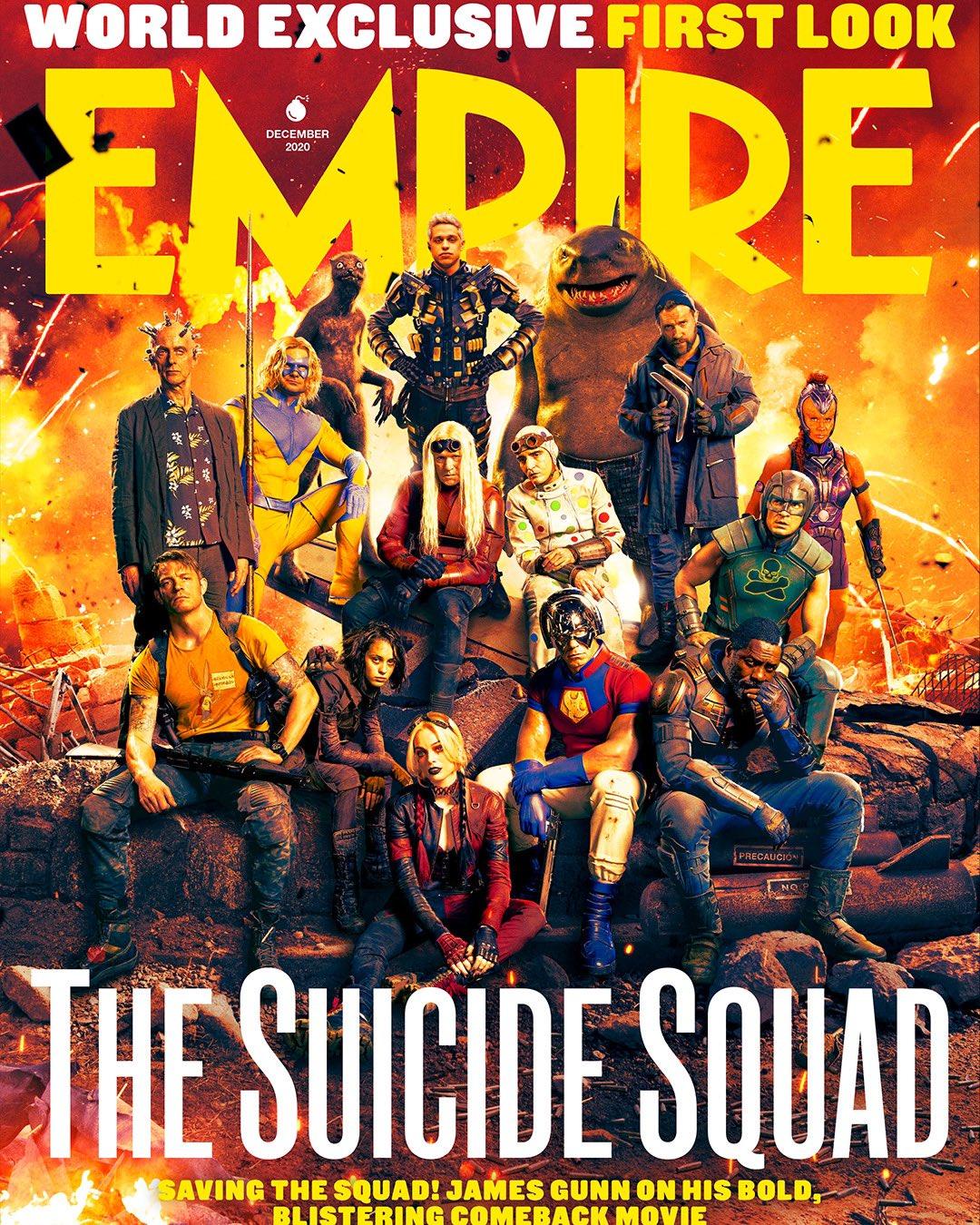 The Suicide Squad Empire Magazine