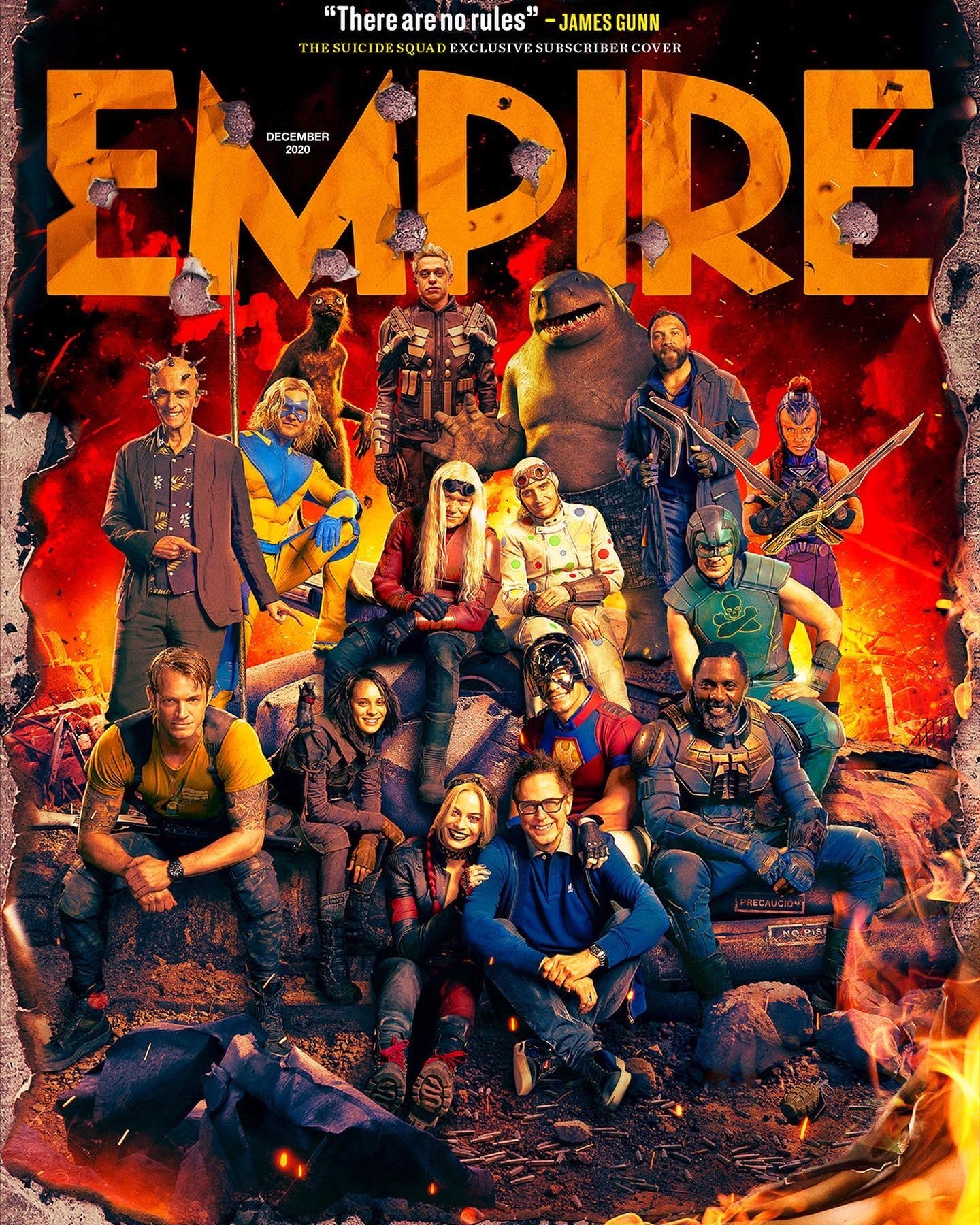 The Suicide Squad Revealed On Empire Magazine Covers | Cosmic Book News