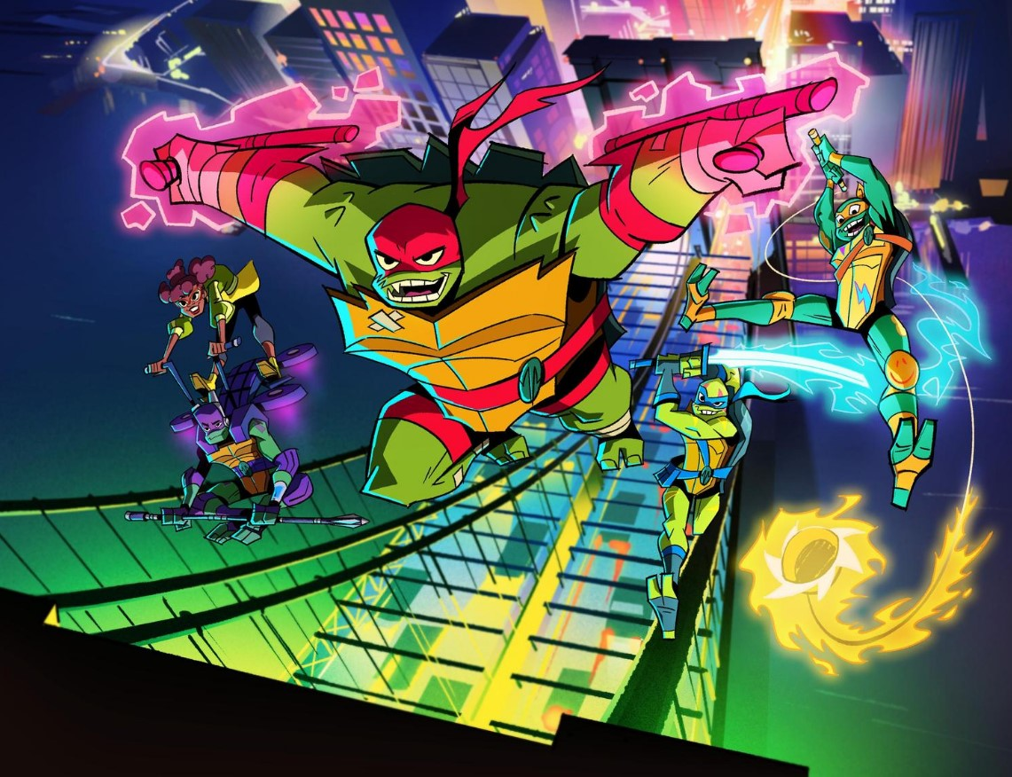 Rise of the Teenage Mutant Ninja Turtles NYCC Trailer