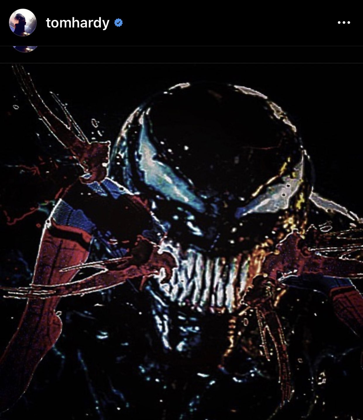 Tom Hardy Venom vs Spider-Man