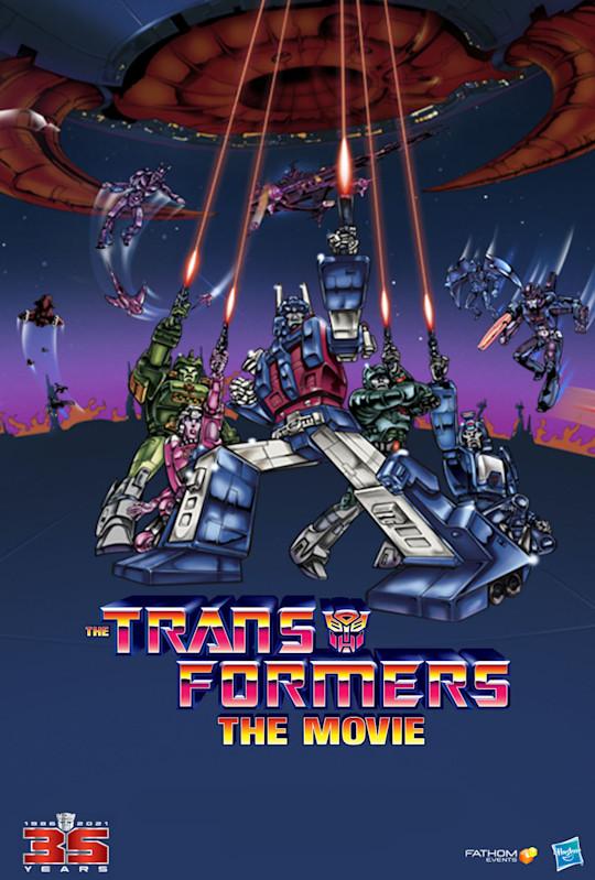 Transformers The Movie 35th Anniversary
