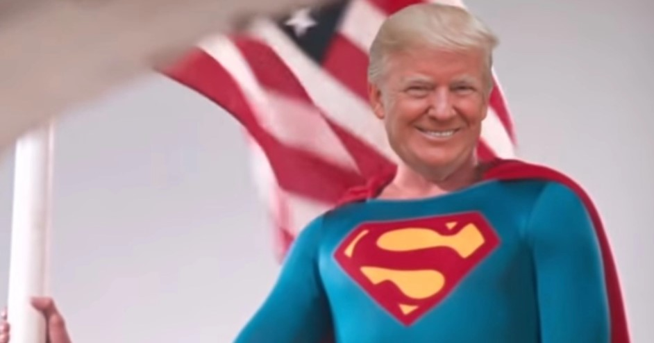 Superman Donald Trump