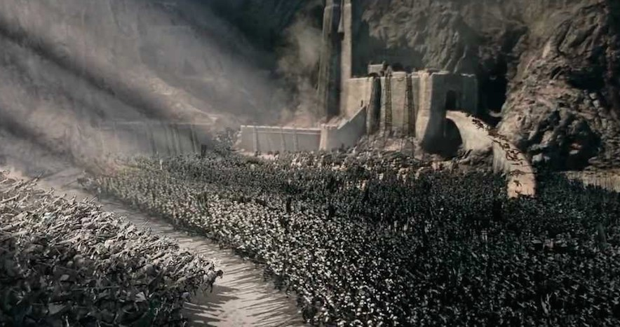 Lords of the Rings The Two Towers Helm's Deep