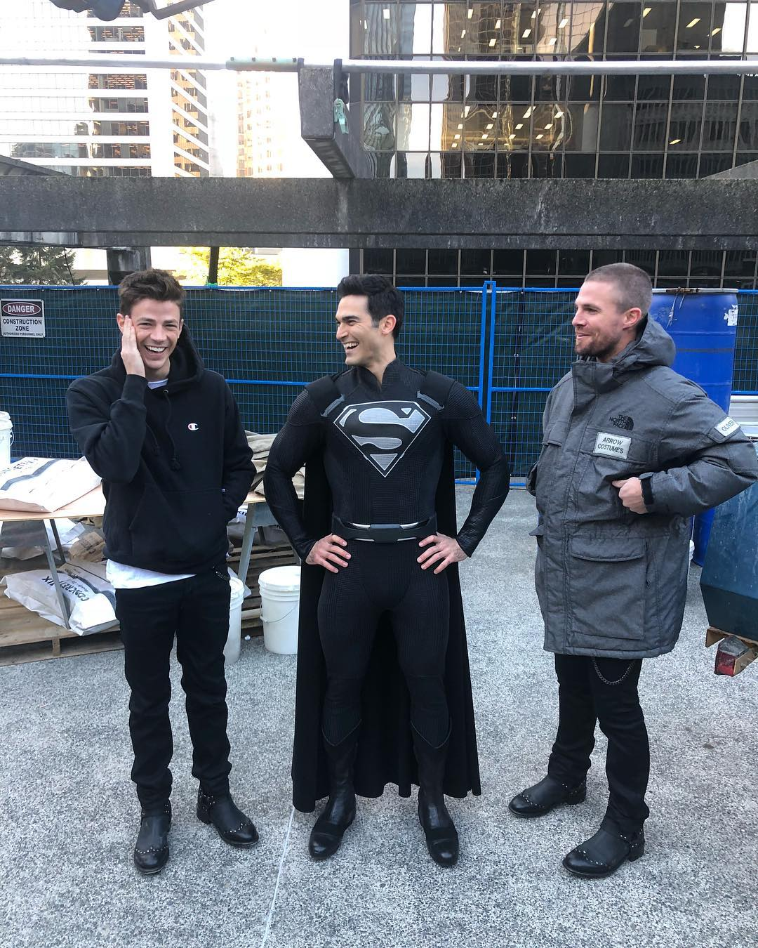 Tyler Hoechlin Superman Black Suit