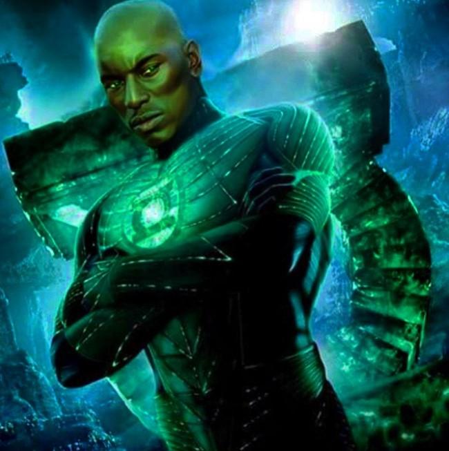 Green Lantern John Stewart Tyrese