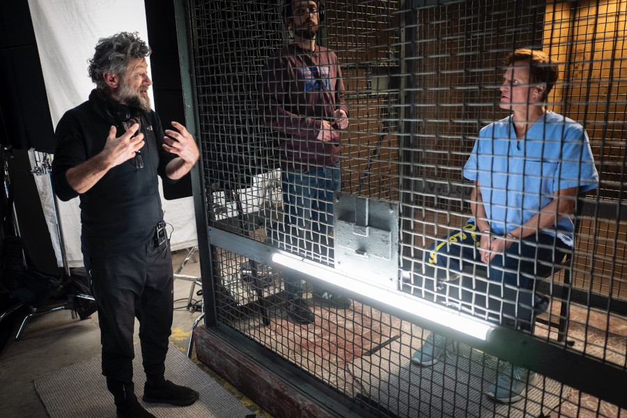 Venom Let There Be Carnage Andy Serkis and Woody Harrelson