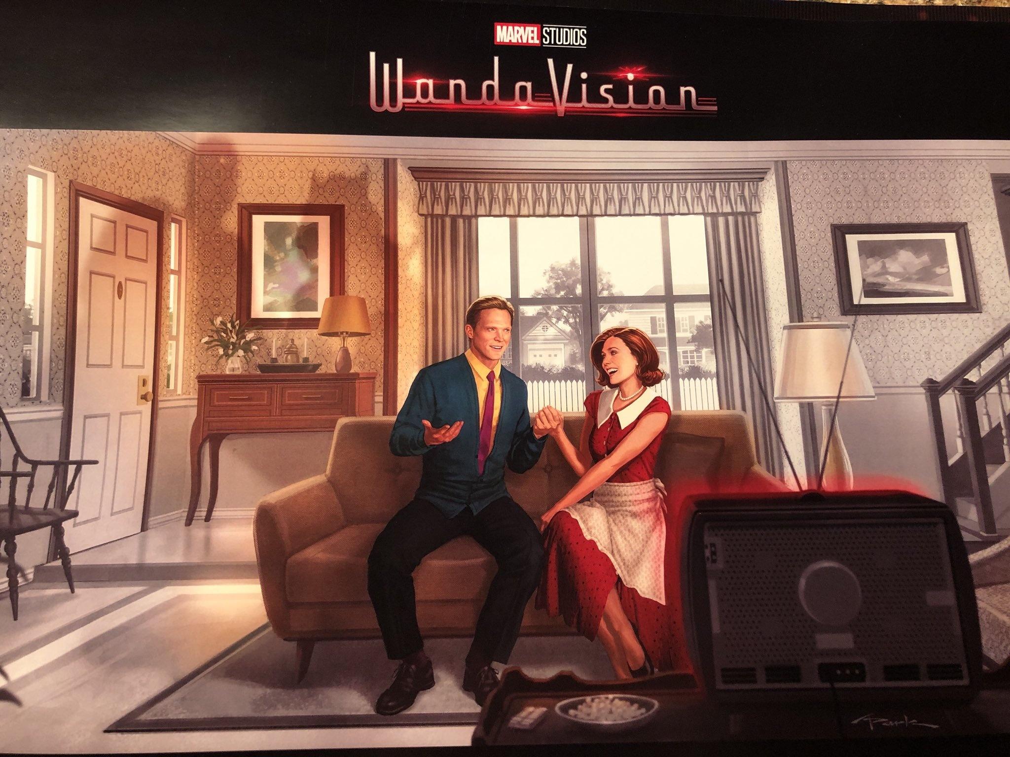 WandaVision concept art