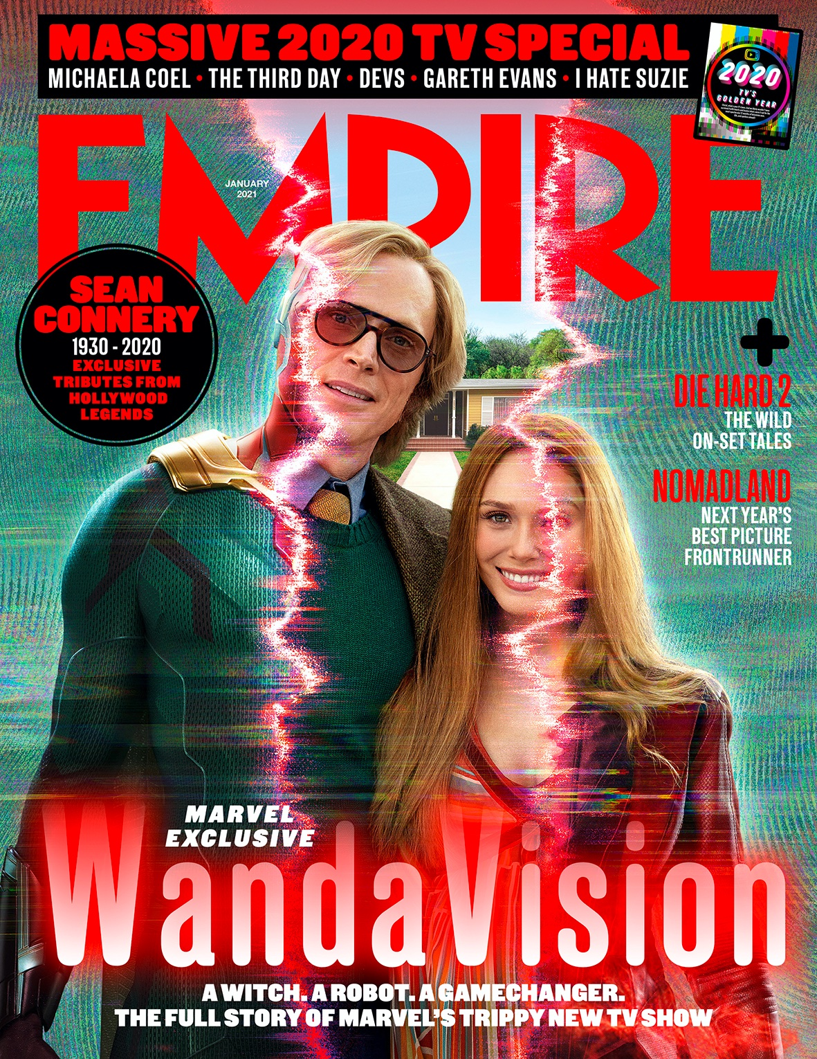 WandaVision Empire Magazine cover