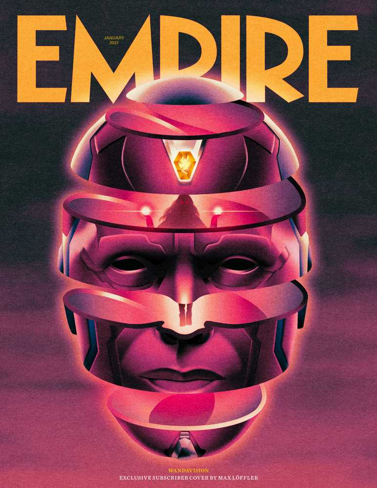 WandaVision Empire Magazine Subscriber cover