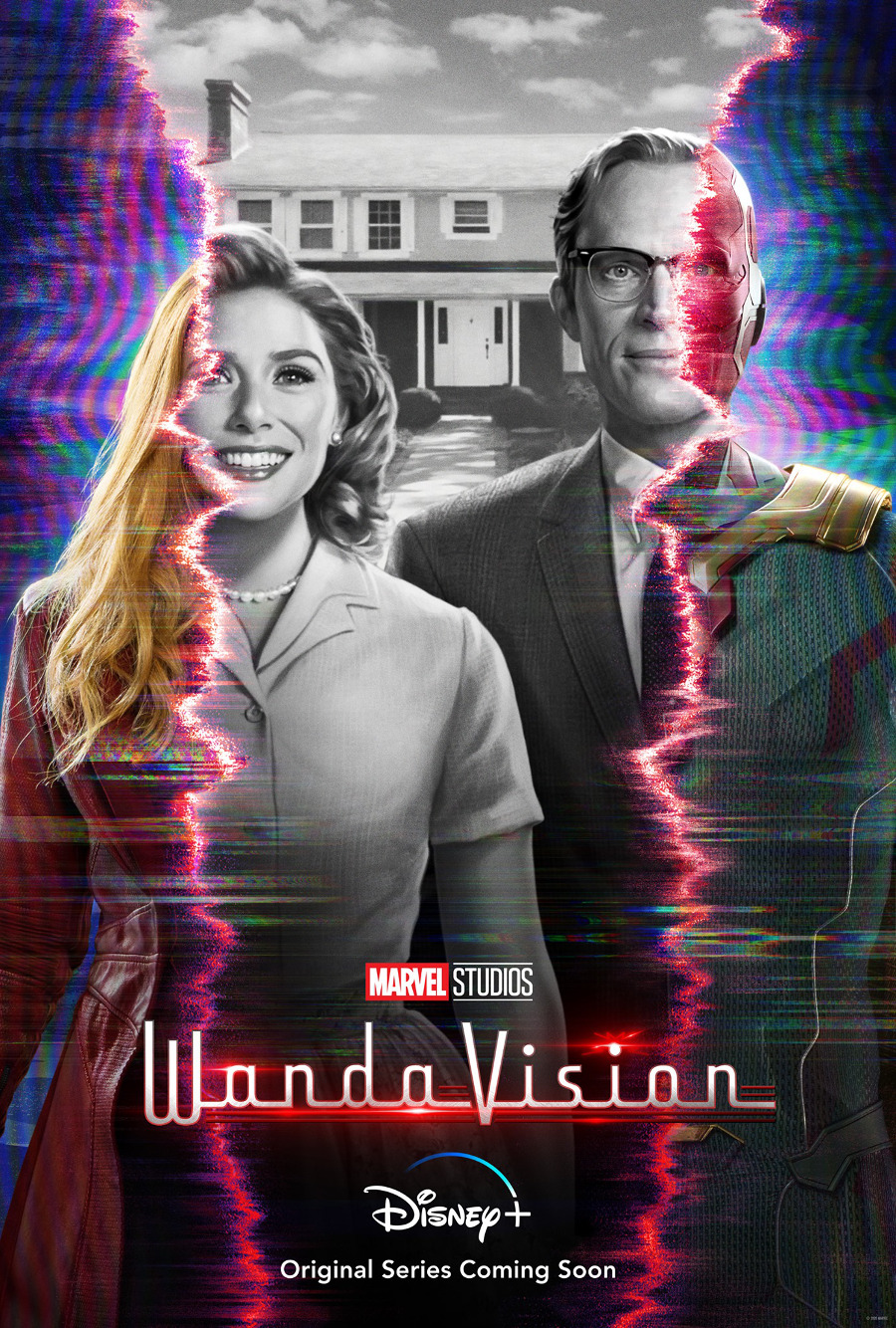 WandaVision poster Disney Plus Marvel