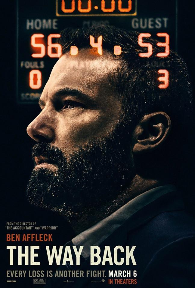 Ben Affleck The Way Back poster