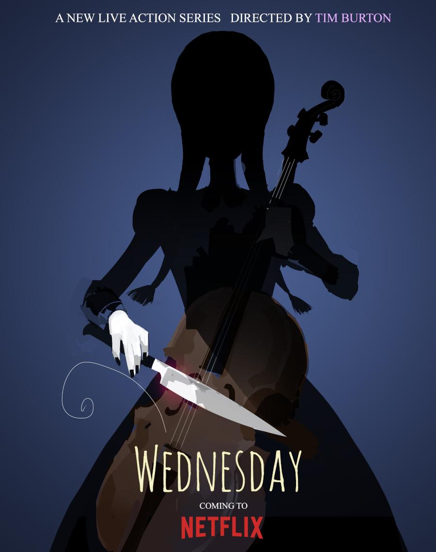 Wednesday Addams Tim Burton Netflix