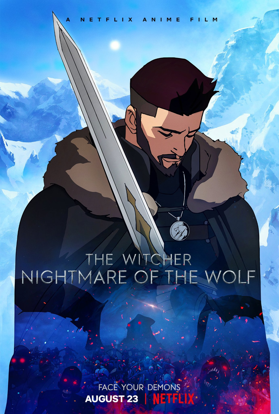 The Witcher Nightmare of the Wolf poster Netflix