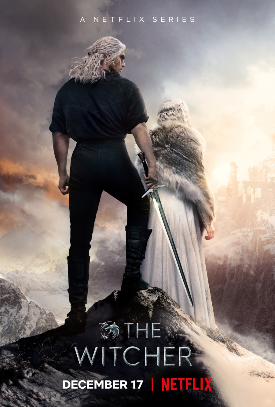 The Witcher Season 2 poster Henry Cavill