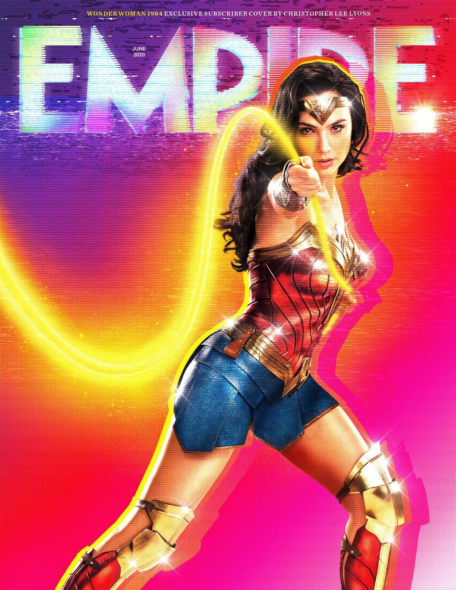Wonder Woman 1984 Empire Magazine Cover