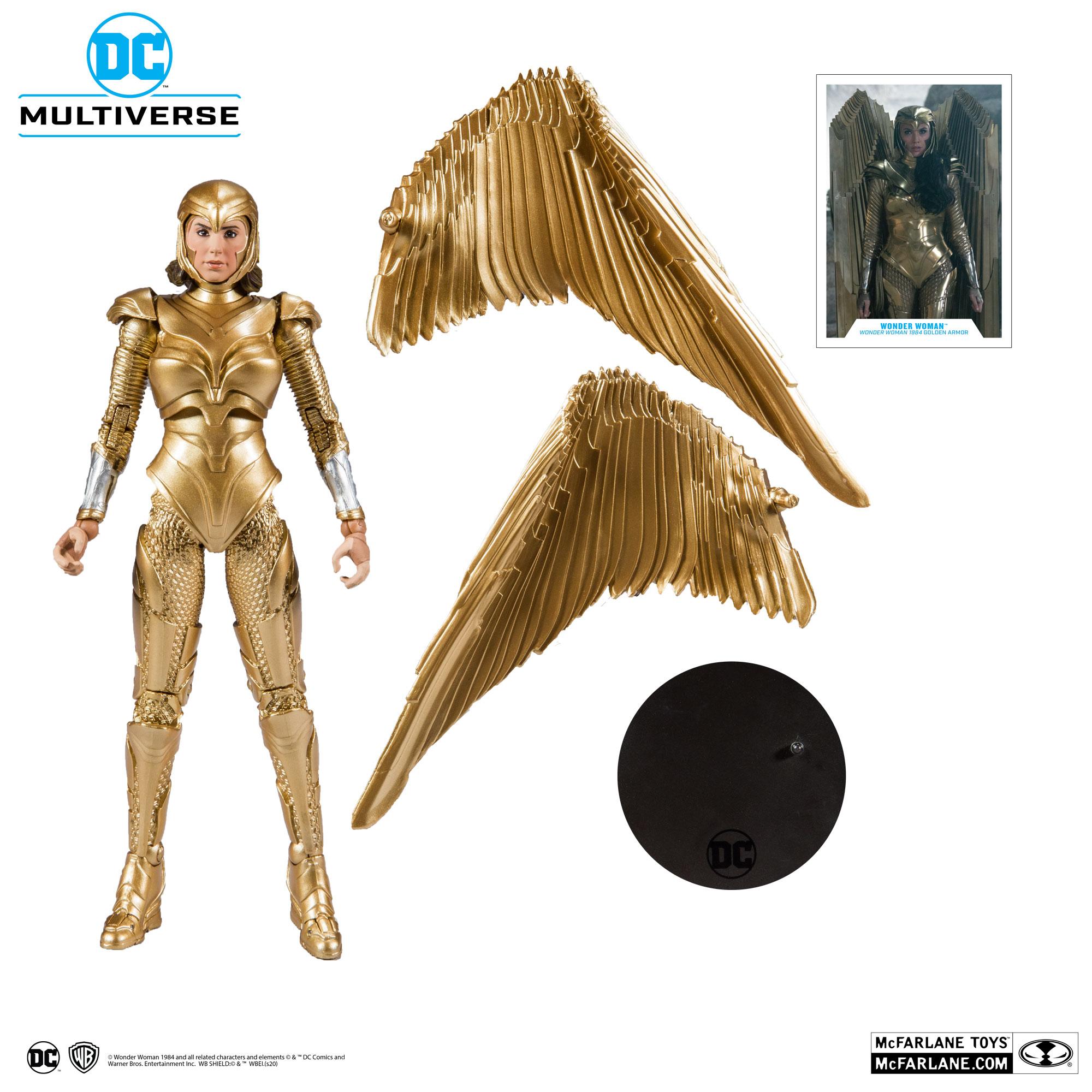 Wonder Woman 1984 Golden Armor McFarlane Toys