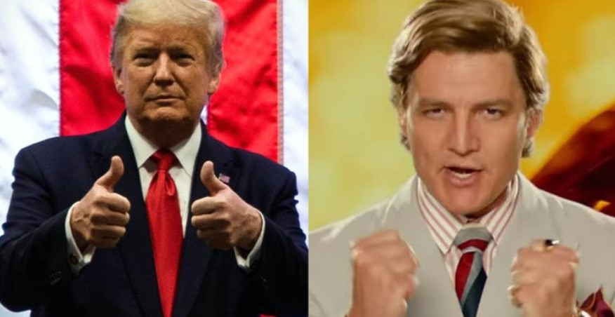 Wonder Woman 1984 Donald Trump